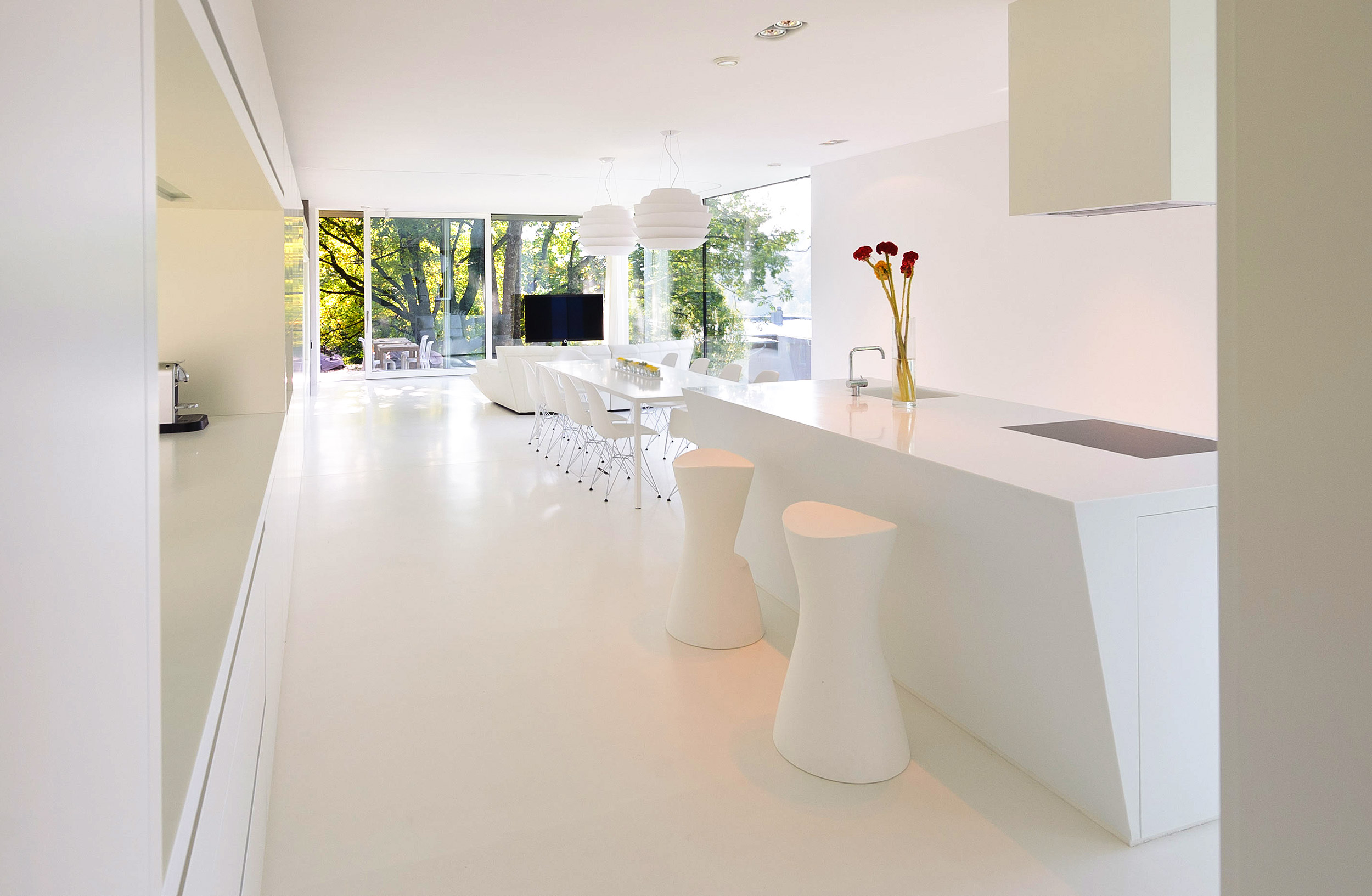 Sehr Kunstharzboden im Wohnbereich | Bautenschutz Melcher FI99